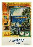 Cannes A.m. Pster por Pablo Picasso