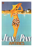 Juan Les Pins Print by Robert Falcucci