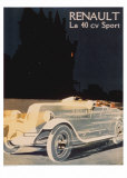 Renault La 40 Cv Sport Prints