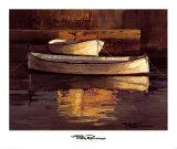 Barcas al Atardecer Poster by Poch Romeu