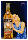Persan Export Poster by Obrad Nicolitch