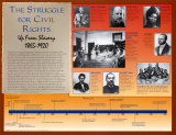 Civil Rights 1865 - 1920 poster