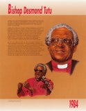 Bishop Desmond Tutu Plakaty