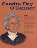 Great American Women, Sandra Day O'Connor Wall Poster