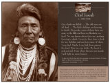 Chief Joseph's Prayer Poster