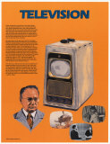 The Television, Art Print