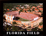 University of Florida - Gainsville, Florida Art by Mike Smith