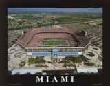 Miami, Florida Plakater av Mike Smith