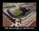 The Ballpark - Arlington, Texas Posters by Mike Smith
