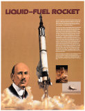 The Liquid Fuel Rocket Posters