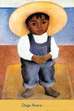 Retrato de Ignacio Sanchez Poster af Diego Rivera