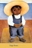 Retrato de Ignacio Sanchez Print by Diego Rivera