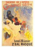 Theatre de l'Opera Posters by Jules Chéret
