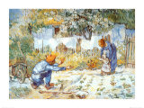First Steps Art by Vincent van Gogh