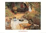 Le déjeuner Posters par Claude Monet