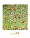Le pommier Poster par Gustav Klimt
