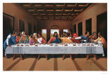 Last Supper Print by Hullis Mavruk
