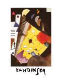Tension in Height Poster by Wassily Kandinsky