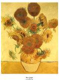 Girassol Pôsteres por Vincent van Gogh