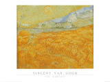 Harvest Poster by Vincent van Gogh