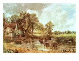 The Haywain, 1819 Print by John Constable
