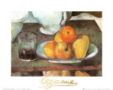 Apples and Pears Prints by Paul Cézanne
