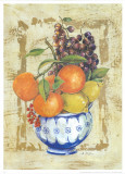Fruit Bowl I Posters by A. Vega