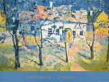 Frühling Kunstdrucke von Kasimir Malevich