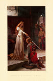 Edmund Blair Leighton - The Accolade, 1901 Plakát