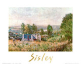 Landscape Posters by Alfred Sisley