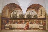 La última cena|Last Supper Láminas por Domenico Ghirlandaio