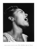 The Golden Age of Jazz - Billie Holiday Fine Art Print