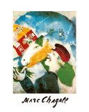 Le vie de la campagne Posters par Marc Chagall