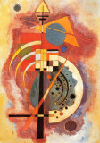 Hommage an Grohmann Kunstdruck von Wassily Kandinsky