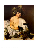 Bacchus, c.1597 Posters by Caravaggio 