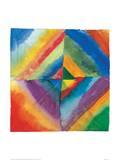 Estudios de color|Color Studies Lámina giclée por Wassily Kandinsky