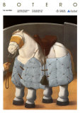 The Horse Print by Fernando Botero