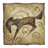 Leaping Horse Print by Raya
