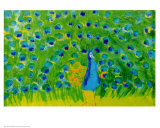 Peacock Kunstdruck von Walasse Ting