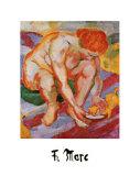 Aktonit Katze Prints by Franz Marc
