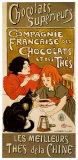 Chocolat - Ein kleiner Biss genügt, Englisch Kunst von Théophile Alexandre Steinlen
