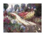 Strada in primavera Stampe di Kent Wallis