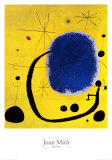 L&#39;Oro dell&#39; Azzurro Posters by Joan Mir&#243;