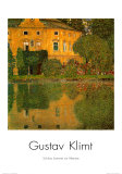 Schloss Kammer at Attersee Prints by Gustav Klimt