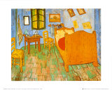 Schlafzimmer in Arles, ca. 1887 Poster von Vincent van Gogh
