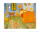 La habitación en Arlés, c.1887 Pósters por Vincent van Gogh