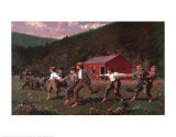Snap-the-Whip Posters by Winslow Homer
