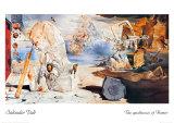 The Apotheosis of Homer Kunst af Salvador Dalí