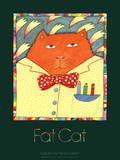 Fat Cat Kunstdrucke von Nancy Carlson