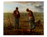 Angelus, 1859 Prints by Jean-Fran&#231;ois Millet